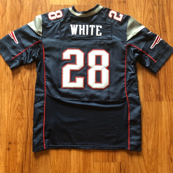low priced ca563 795e4 James White New England Patriots Jersey Stitched